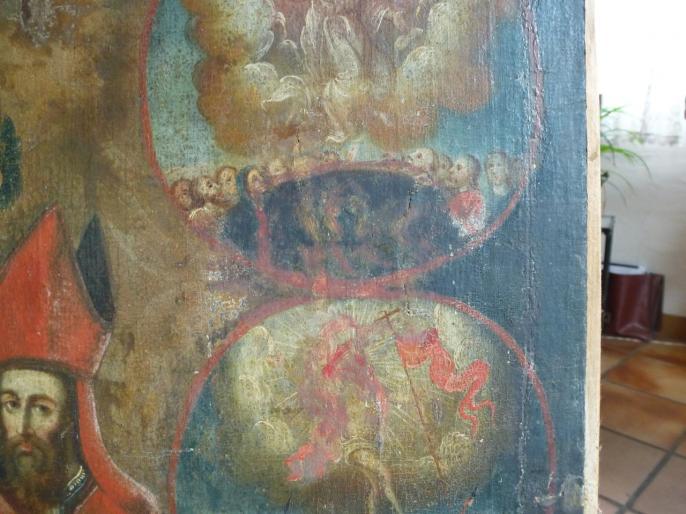 Vierge au Rosaire (détail)