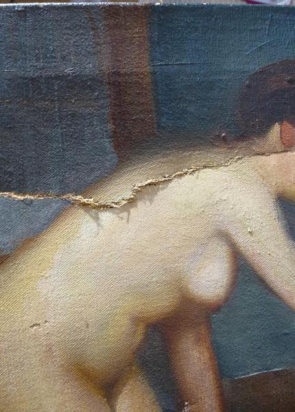 Etude pour femme au bain, Paul de Frick, XXe siècle