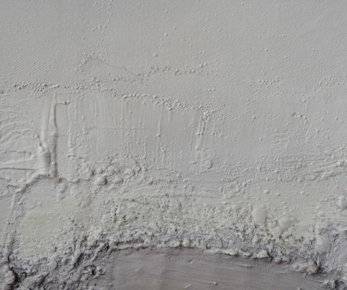 Composition, par Rutili, XXIe siècle, huile sur toile